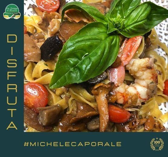 Disfruta de la cocina de Michele Caporale