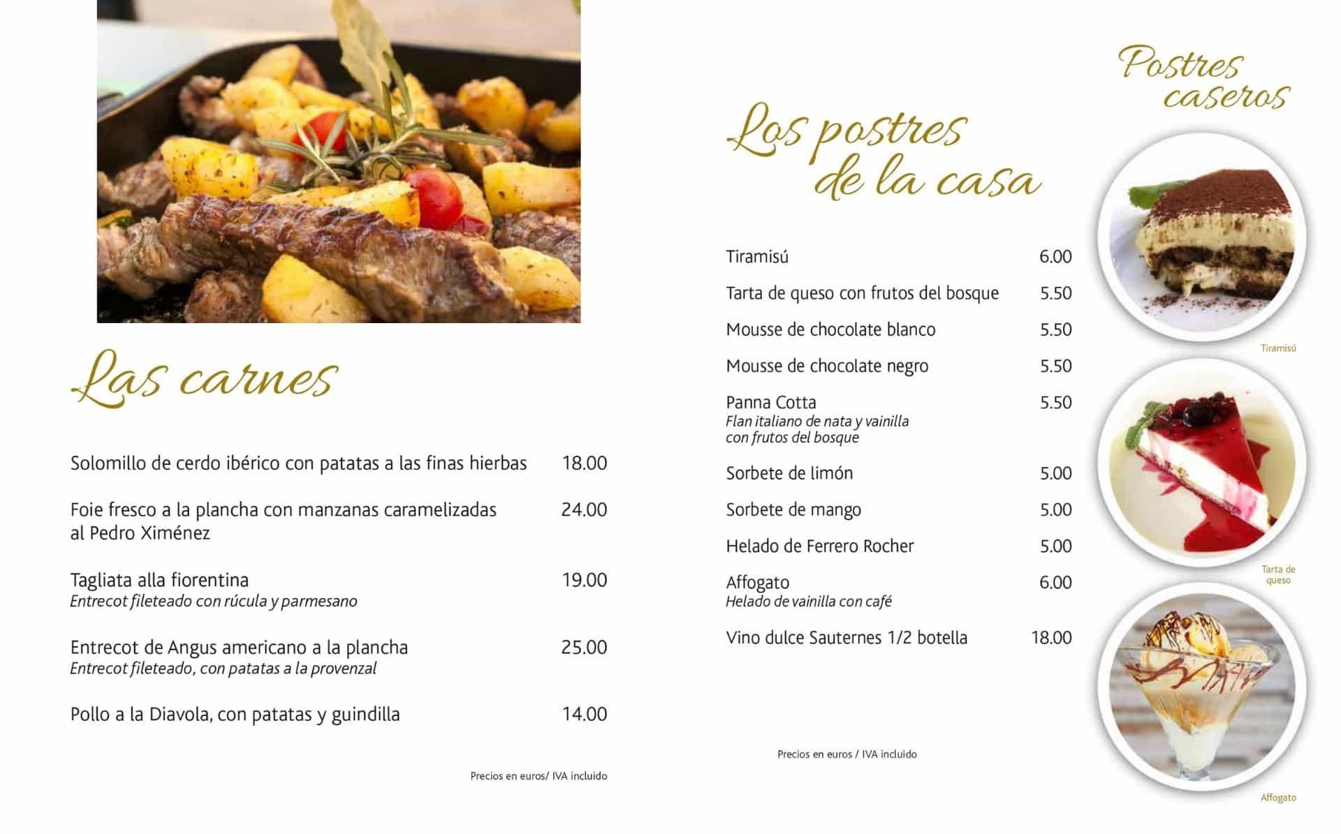 Carta ES 2021-Carnes y Postres-La-Bottega-di-Michele